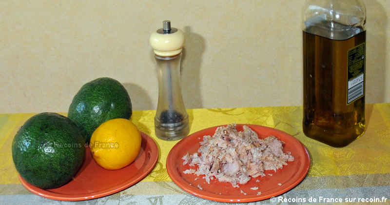Avocat au thon