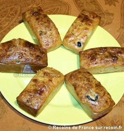 Cake aux anchois tomates et olives
