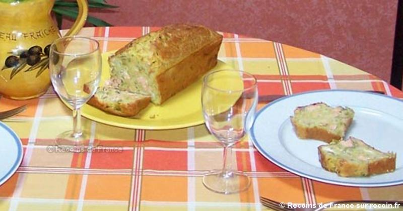Cake saumon asperge
