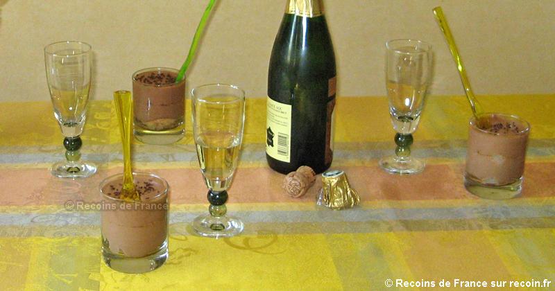Tiramisu poire chocolat