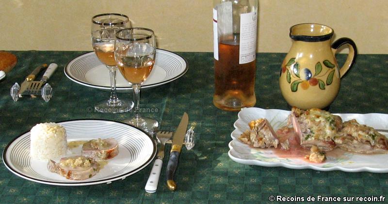 Filet mignon au Roquefort