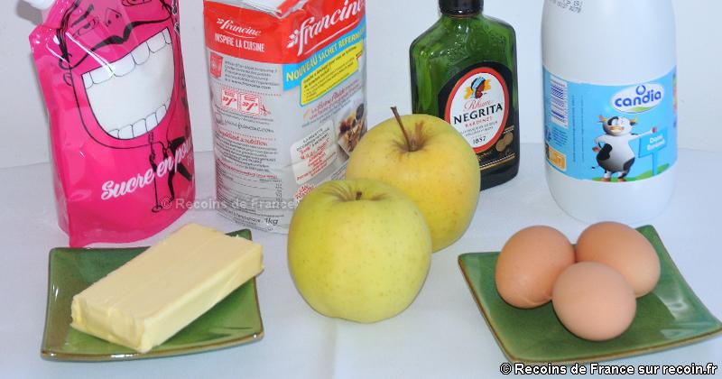 Gâteau auvergnat aux pommes