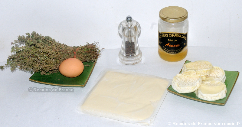 Friand de chèvre au miel
