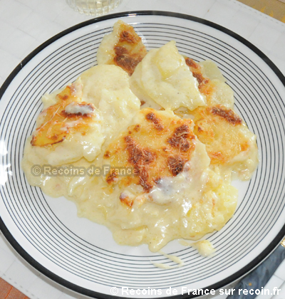 recette gratin dauphinois au comt sur. Black Bedroom Furniture Sets. Home Design Ideas