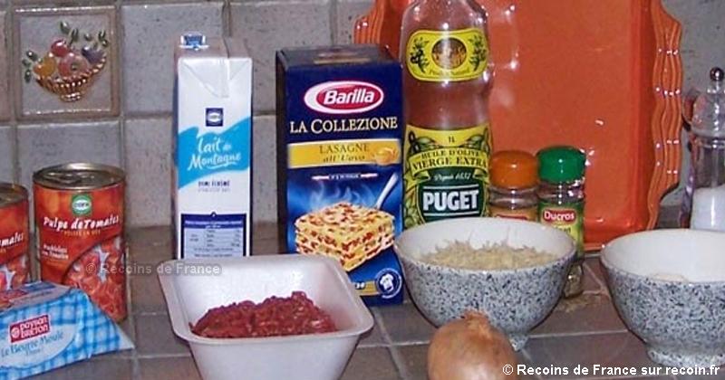 Lasagnes � la bolognaise