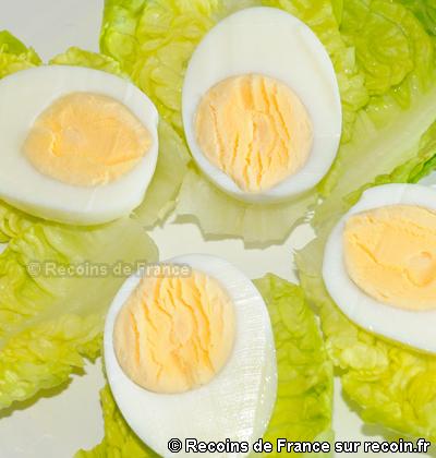 Oeuf dur mayonnaise