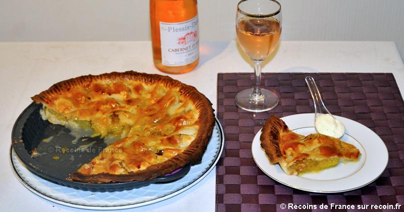 recette p 226 t 233 aux prunes sur recoin fr