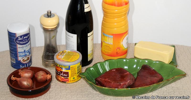 Pavé de boeuf sauce au poivre