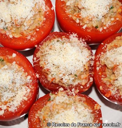 Petites tomates farcies