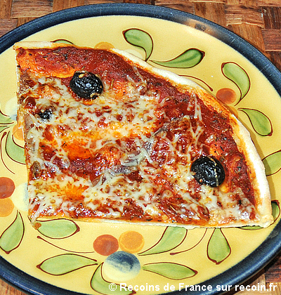 Pizza aux anchois