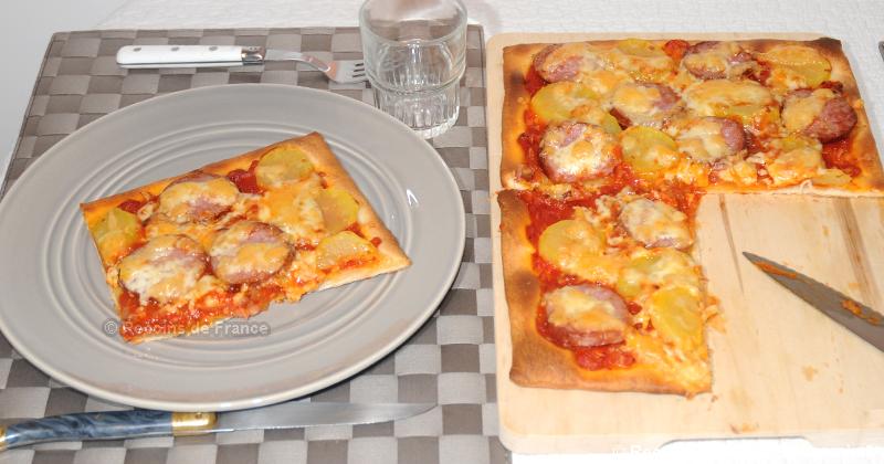 Pizza franc comtoise