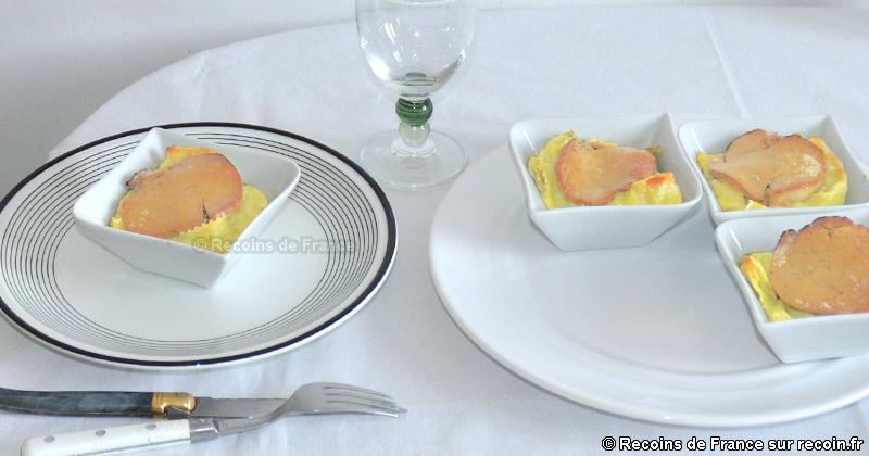 Ravioles du Royans au foie gras