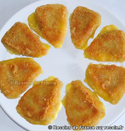 Reblochon pané au miel