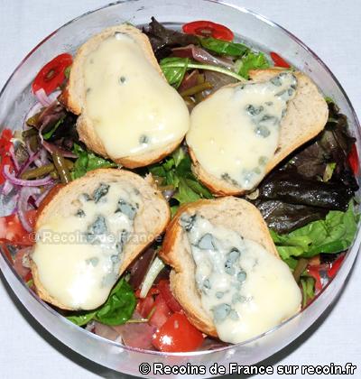 Salade au Roquefort