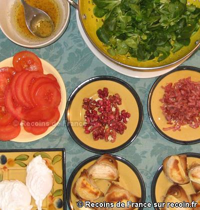Salade berrichonne