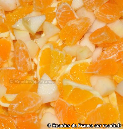 Salade de fruits d'automne