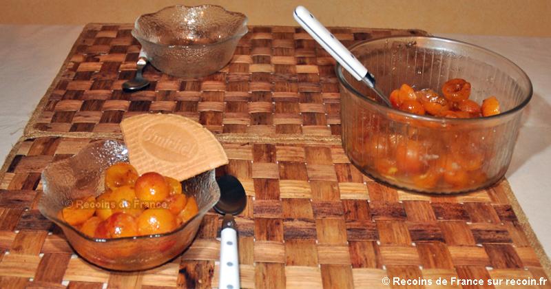 Salade de fruits aux mirabelles