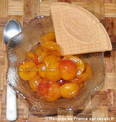 Recette salade de fruits aux mirabelles sur - Recette avec des mirabelles ...