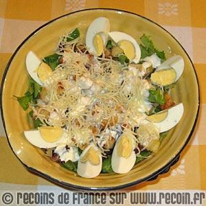 Salade vosgienne