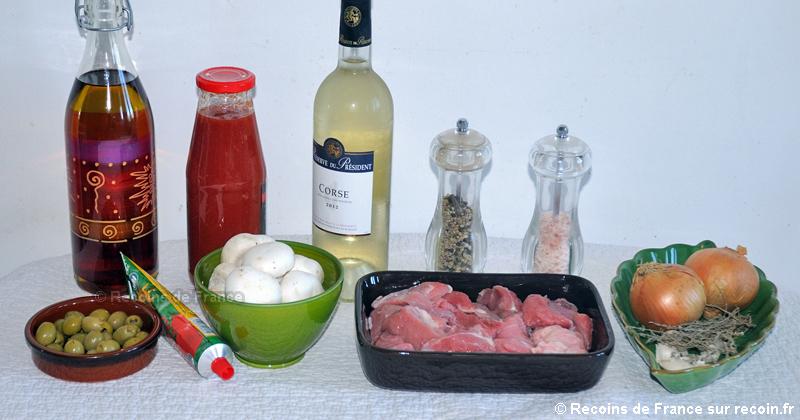 Sauté de veau Corse