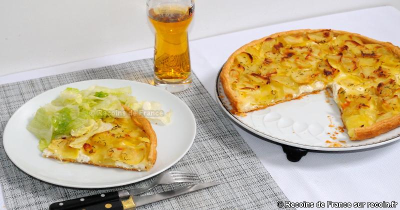Tarte à la pomme de terre