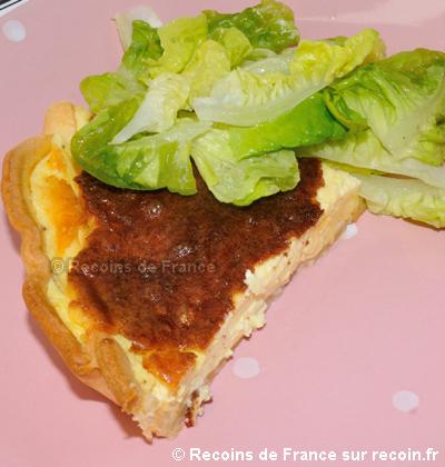Tarte au fromage de Langres