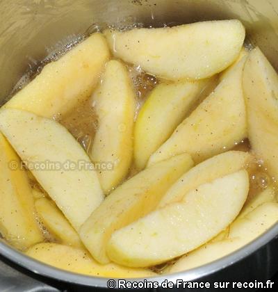 Tarte aux pommes du Limousin