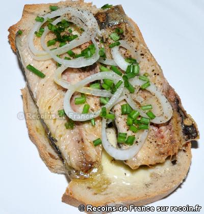Tartines de Sardines