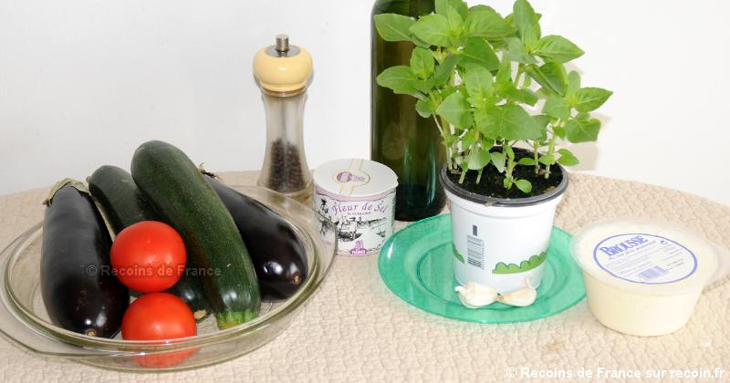 Tian de légumes à la Brousse