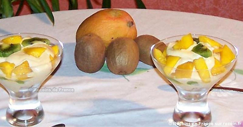 Tiramisu Kiwi Mangue