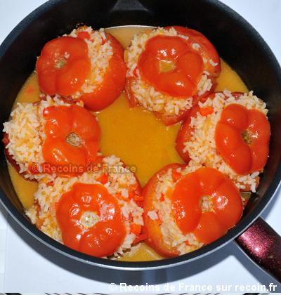 Tomates au riz
