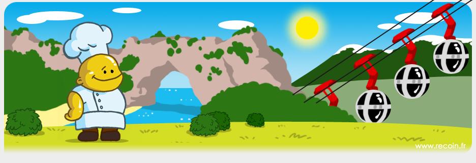 La recette POULET AUX MARRONS est une spécialité de la région RHÔNE ALPES.