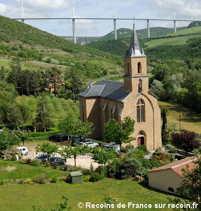 Autour du Viaduc de Millau