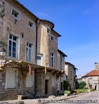 Maisons renaissances de Châtillon