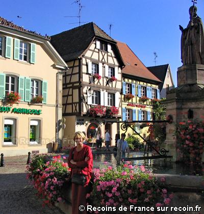 Village circulaire d'Eguisheim
