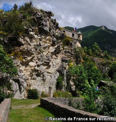 Chemin de Ronde de Colmars