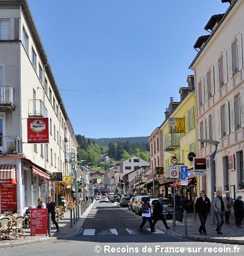 Centre ville de Gérardmer