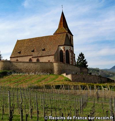 Eglise fortifi�e d'Hunawihr