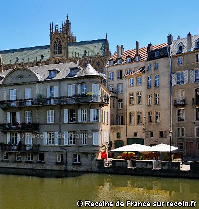 Ile du Petit Saulcy de Metz