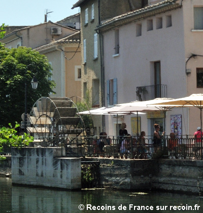 Isle sur la Sorgue Venise comtadine