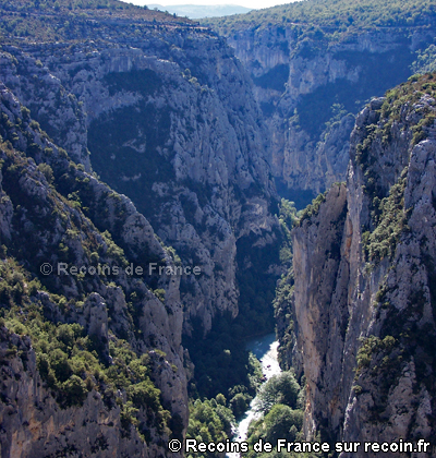 Couloir Samson Gorges du Verdon