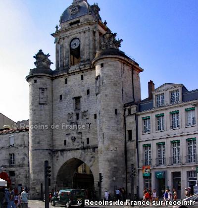 Quartier ancien de la Rochelle