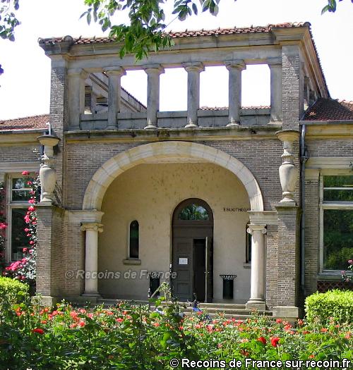 Roseraie de la maison Romaine
