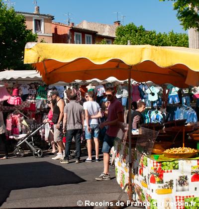 Grand marché d'Apt