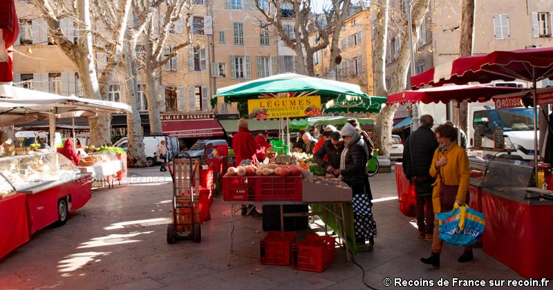 Marchés d'Aix en Provence
