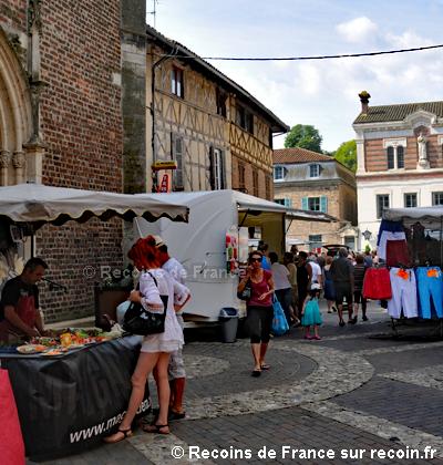 Marché de Châtillon sur Chalaronne