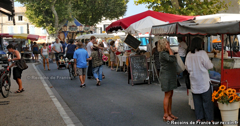 Marché de Saint Rémy de Provence