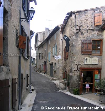 Village du livre de Montolieu