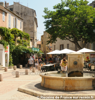 Place Doria de saint Florent