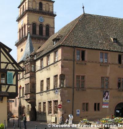 Place de l'Eglise à Kaysersberg